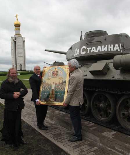 Брянские изборцы побывали у белгородцев с иконой «Победа»
