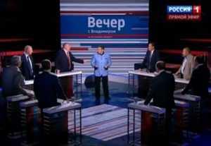 На «Вечере с Соловьёвым» обсудили арест Николая Денина