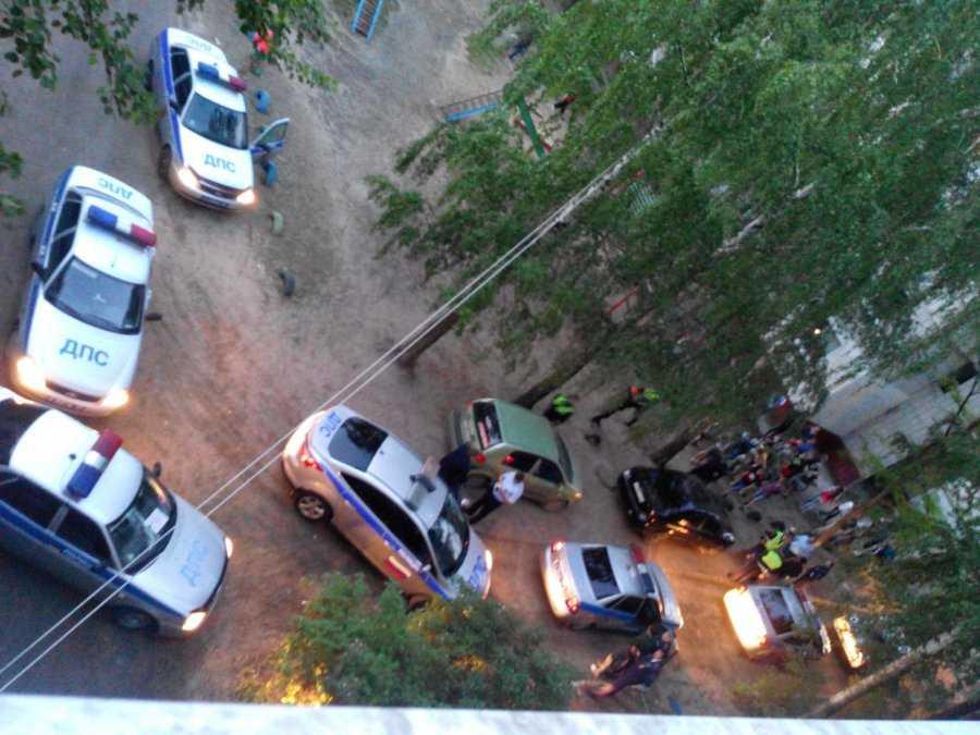 В Брянске для остановки водителя понадобилось 7 автомобилей ДПС