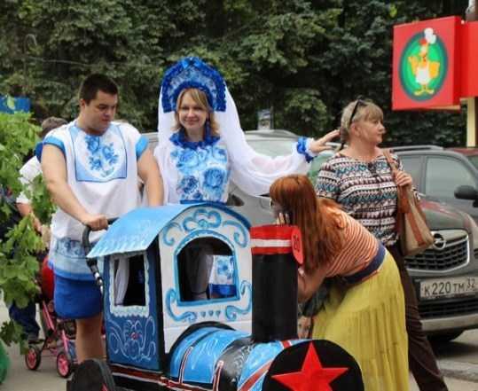 В Брянске на параде колясок откроется  выставка «говорящих» книг
