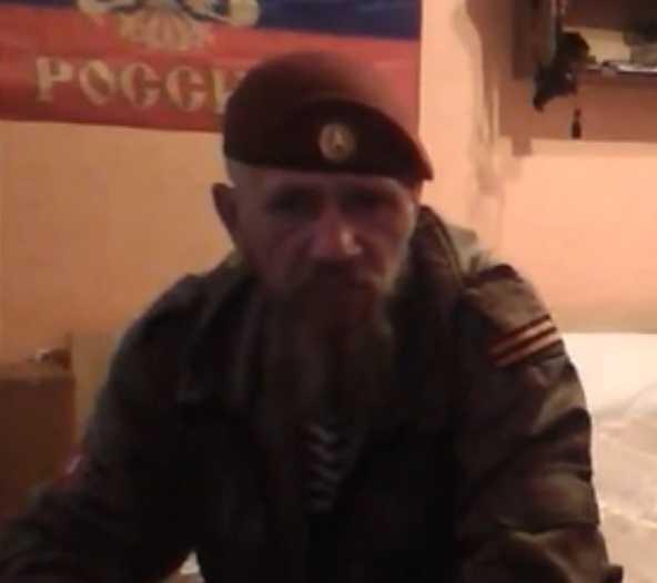 Брянский Бушмен сражается за независимость Донбасса