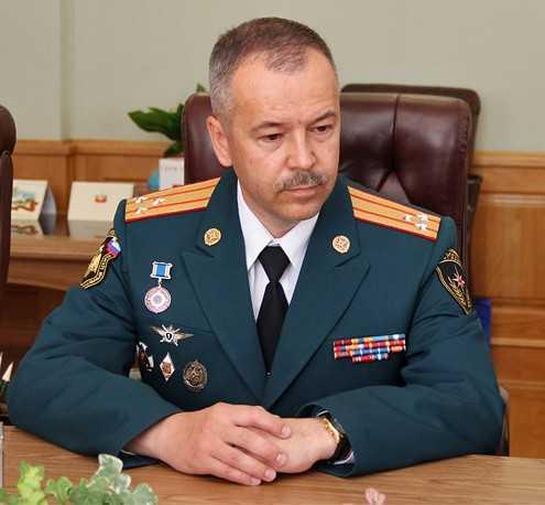 Брянское управление МЧС возглавил полковник Вадим Уваркин