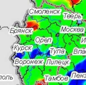 Брянская область попала в список пожароопасных территорий