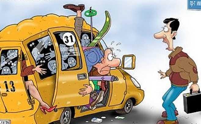 В Брянске водитель маршрутки потерял пассажирку
