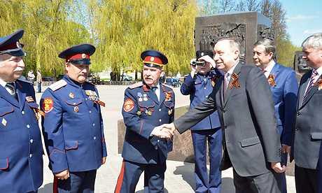 Полпред Беглов и брянский глава Богомаз встретились с казаками