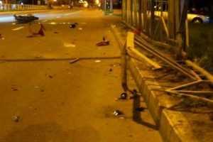 В Брянске студент БГУ разбился насмерть на мотоцикле
