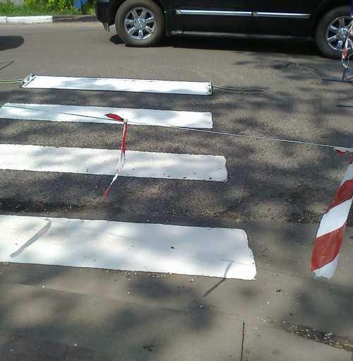 На Красноармейской улице Брянска закрыли две «зебры»