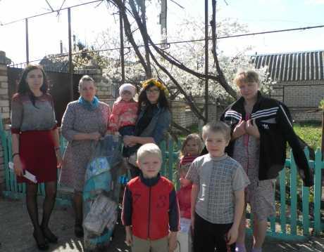 Многодетная брянская семья с 11 детьми избавилась от угрозы выселения