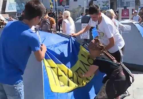 В Киеве начался третий майдан