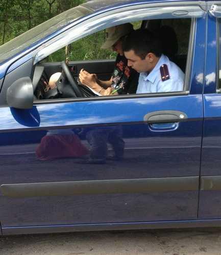 Брянская автомобилистка на «БМВ» провела атаку «Тойоты»