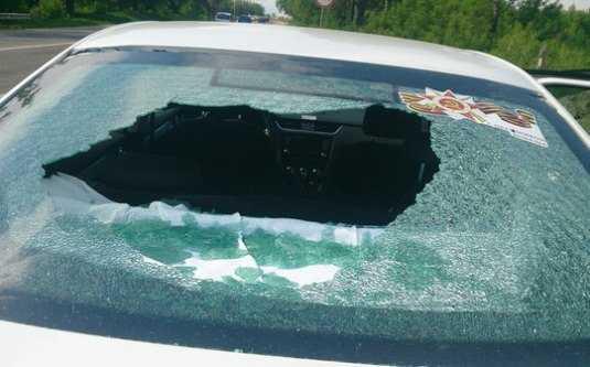 Автомобилистка сообщила о стрельбе по машинам в Брянске