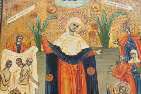 Таможенники передали брянскому музею икону Богоматери