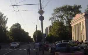 В сети появилось видео с места наезда на детскую коляску в Брянске