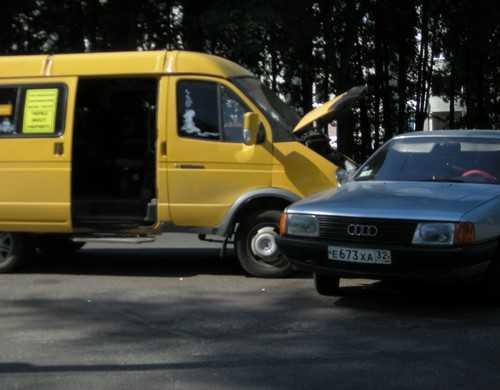 В Брянске с начала года водители маршруток совершили 31 ДТП