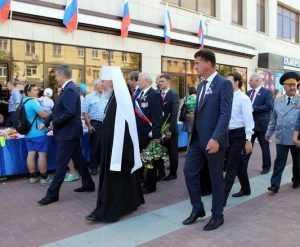 В День России Брянск исполнил гимн страны