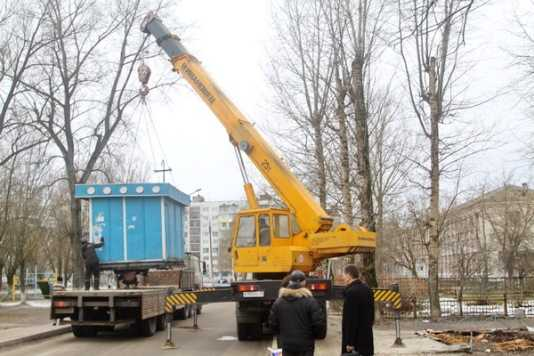 В Брянске снесли 22 незаконных киоска