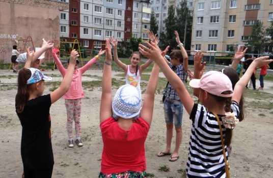 Брянским детям подарили фестиваль спорта и площадку для игр