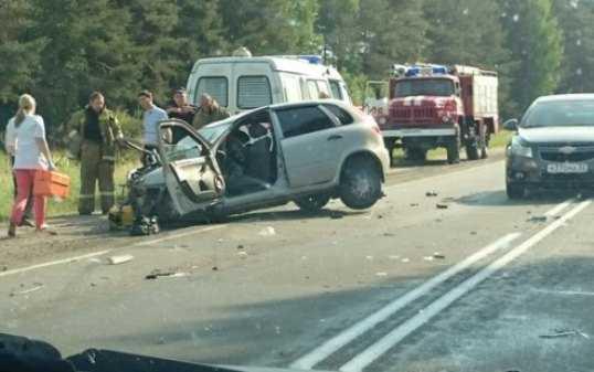 В ДТП на брянской трассе погибли два человека, четверо ранены