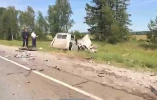 На брянской трассе «Форд» протаранил «ГАЗель» — погиб человек