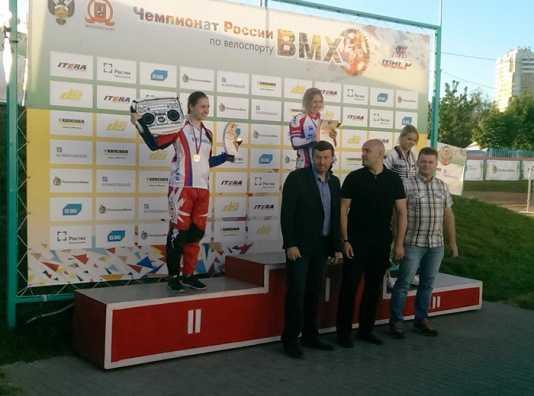 Брянская велосипедистка завоевала три медали на чемпионате России
