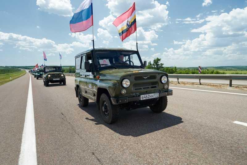 Брянск принимает автопробег «Дорогами победителей»