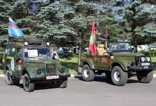 Брянцы показали участникам автопробега Хацунь и Партизанскую поляну