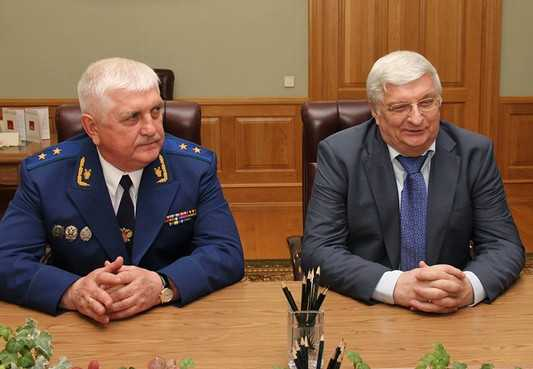 Брянского прокурора Александра Войтовича представили главе области
