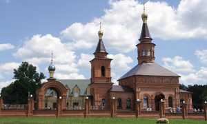 Митрополит освятил новый храм в брянском селе Белогорщь