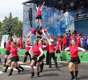 На «Славянском единстве» брянцы встретились с украинцами и белорусами