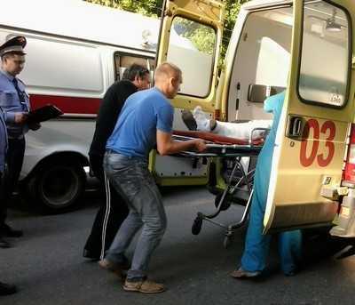 Из-за резкого торможения брянская пассажирка сломала ногу в автобусе