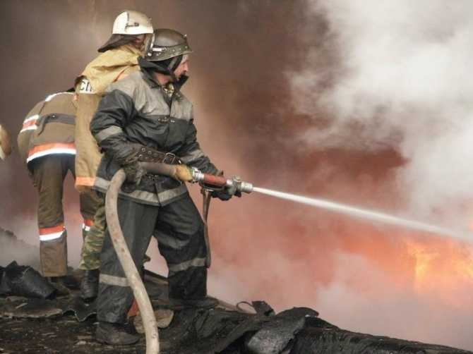 В брянской деревне сгорело подворье