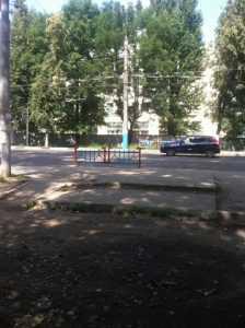 В Брянске закрыли опасный переход у «Полтинника»