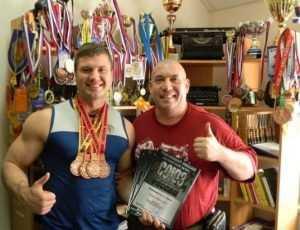 Брянский силач завоевал четыре «золота» на чемпионате России