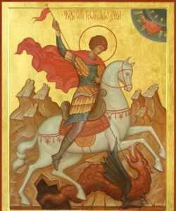 Брянцы смогут поклониться мощам Георгия Победоносца