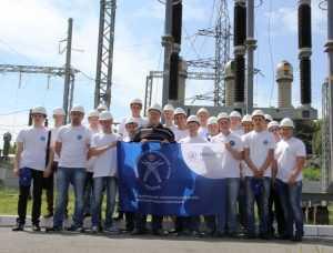Брянские энергетики открыли сезон студенческих стройотрядов