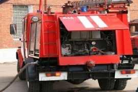 В брянском райцентре в гараже сгорел автомобиль