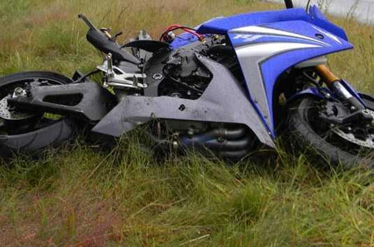 В брянском лесу разбились мотоциклист и его пассажирка