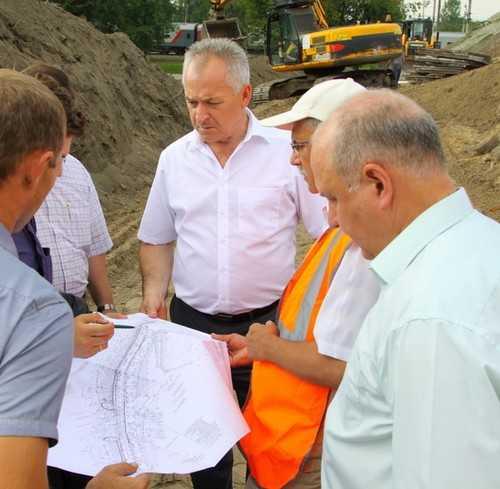 На путепроводе около вокзала Брянск – I начались строительные работы
