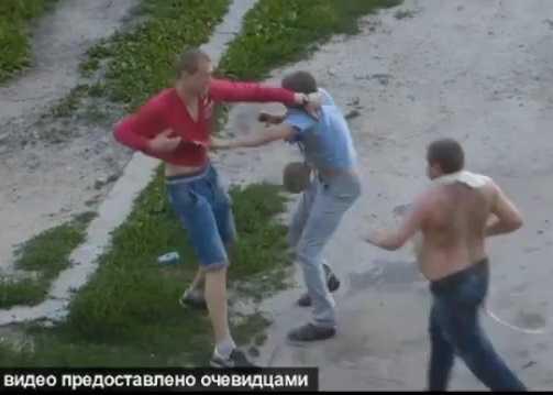 Задержать хулиганов помогла видеозапись очевидца драки