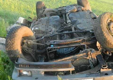 В автокатастрофе на брянской трассе около Почепа погиб водитель