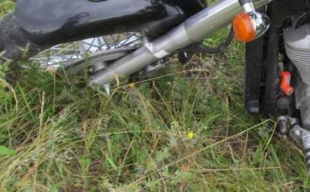 Брянский тракторист отправил под откос мотоциклиста