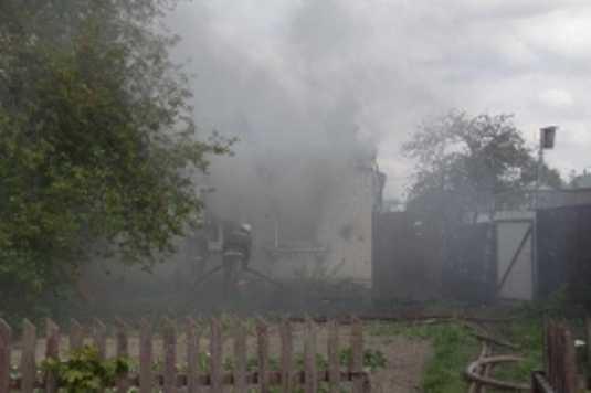 В брянской деревне сгорел дом – пострадал человек
