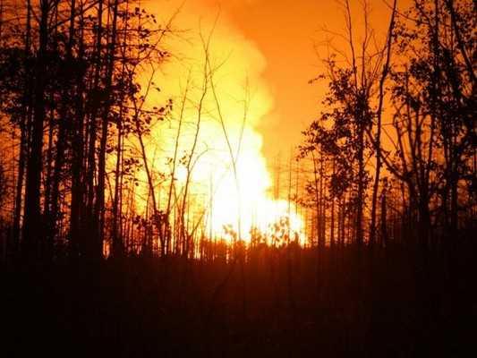 Стравливание газа под Брянском любители слухов назвали взрывом