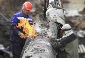 Брянское управление МЧС: На газопроводе был не взрыв, а огневые работы
