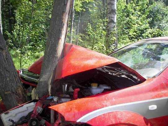 Юная брянская автомобилистка разбилась насмерть и погубила пассажира