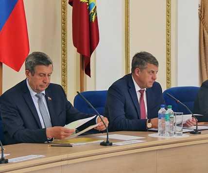 Брянский глава Александр Богомаз объявил выговоры чиновникам