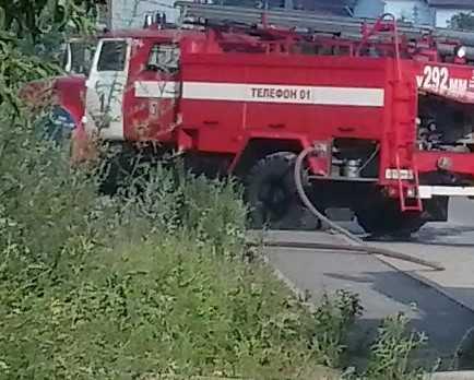 При пожаре в Дятьковском районе пострадал человек