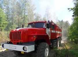В Брянском районе сгорели бытовка и экскаватор