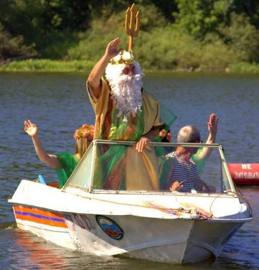 Брянск отпразднует День ВМФ с Нептуном и русалками