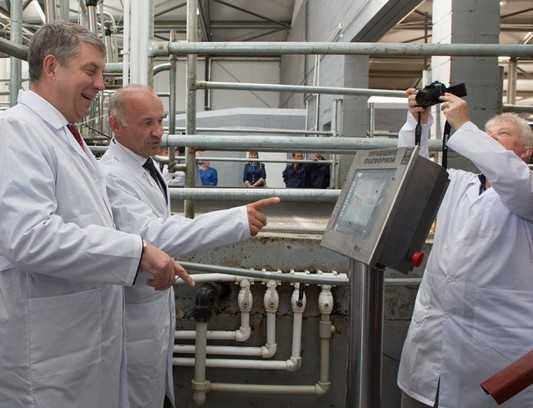 Брянский агрохолдинг «ОХОТНО» открыл молочно-товарную ферму